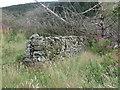 NT8712 : Drystone Wall, Middle Hill near Fairhaugh by Geoff Holland