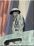 TQ3078 : Detail, International Seafarers Memorial, Albert Embankment by Robin Sones