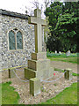 TM2787 : Alburgh WW1 and WW2 War Memorial by Adrian S Pye