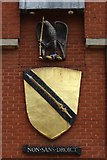 SP2055 : Shakespeare coat of arms by Philip Halling
