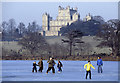 SK5238 : Fun on the ice - Wollaton Park by Stephen McKay