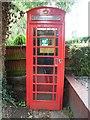 TQ0098 : Red K6 Telephone Box in Latimer by David Hillas
