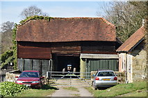TQ5740 : Barn, Smockham Farm by N Chadwick