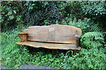NX4355 : Memorial Seat at Wigtown by Billy McCrorie