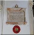 TG1127 : Heydon War Memorial by Adrian S Pye