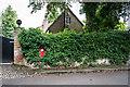 SJ8869 : Victorian postbox, Church Lane, Gawsworth by Brian Deegan