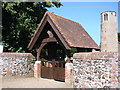 TG3006 : Surlingham War Memorial Lychgate by Adrian S Pye