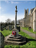 TF5315 : Terrington St. John's War Memorial by Adrian S Pye