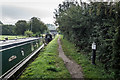 SJ7559 : Mile Marker 69-23 and Bridge 152a, Trent & Mersey Canal by Brian Deegan