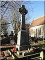 TF5414 : Tilney St. Lawrence War Memorial by Adrian S Pye