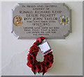 TM1085 : Winfarthing WW2 War Memorial by Adrian S Pye