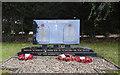 TG2701 : Poringland War Memorial by Adrian S Pye