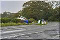 SD3074 : A5087, Coast Road, at Bardsea by David Dixon