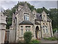 TQ2272 : Old Vicars House at Putney Vale Cemetery entrance by James Emmans