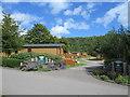 ST4454 : Cheddar Woods holiday park, near Cheddar by Malc McDonald