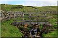 SD7994 : Footbridge over Scars Gill by Chris Heaton
