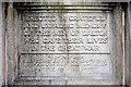 SD2373 : Dedication on Dalton War Memorial by David Dixon