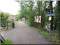 ST4157 : Strawberry Line path at Winscombe by Malc McDonald
