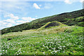 NY5957 : Mine spoil heap near Howgill by Trevor Littlewood