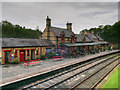 SD3484 : Station Buildings at Haverthwaite by David Dixon