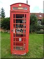SU7791 : Red K6 Telephone Box in Fingest by David Hillas