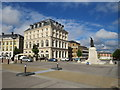 SY6790 : Queen Mother Square, Poundbury by Malc McDonald