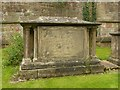 SK7053 : Chest tomb in the Minster churchyard, Southwell by Alan Murray-Rust