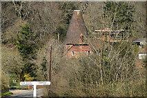 TQ5538 : Oast House, Tea Garden Lane by N Chadwick