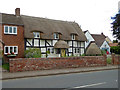 SO8349 : Thatched house - Callow End by Chris Allen