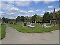 SE3419 : Northern end of Wakefield City Cemetery by Stephen Craven