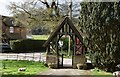 SU7429 : Lych gate, Church of St Peter and St Paul by N Chadwick