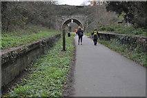SY6778 : Former Station, Rodwell Trail by N Chadwick