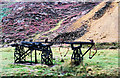 SH6047 : Sheave wheel assembly Cwm Bychan by Trevor Littlewood