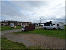 NK0066 : Entrance to Caravan & Camping Site, Fraserburgh by JThomas