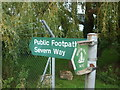 ST6799 : This way to the Severn Way by Neil Owen