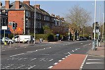 TQ5840 : St John's Rd, A26 by N Chadwick