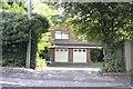 SK9136 : Double garage by Bob Harvey