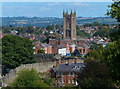 SO5174 : St Laurence's Church, Ludlow by Mat Fascione