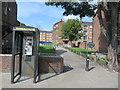 TQ4286 : Path to Aldersbrook Lane, near Ilford by Malc McDonald