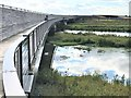 TL5478 : Walkway and floodplain - The Ely southern bypass by Richard Humphrey