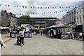 SP2864 : Warwick's Saturday market rethought by Robin Stott