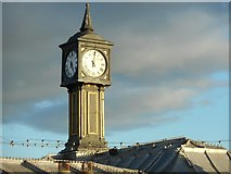 TQ3103 : Clock tower, Palace Pier, Brighton by Nick Barber
