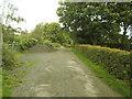 SE2029 : Site of former railway bridge, Tong Moor Side by Stephen Craven