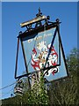 SO7345 : Former inn sign by Philip Halling