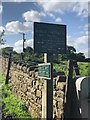 SJ9684 : Peak & Northern Footpath Sign No 119 by Philip Cornwall