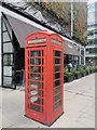 TQ2879 : Telephone Box Bressenden Place, Victoria by PAUL FARMER