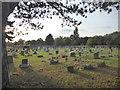 TQ4677 : Evening sunlight in Woolwich New Cemetery by Marathon