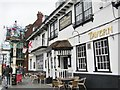 TQ4454 : Westerham - George and Dragon by Colin Smith