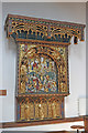 TL8046 : Reredos in Cavendish St. Mary's church by Adrian S Pye