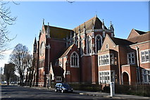 SU6300 : Cathedral of St John the Evangelist by N Chadwick